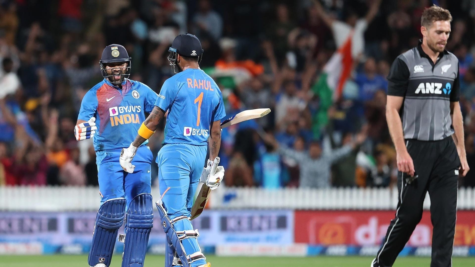 How Rohit Sharma overcame a stiff challenge from Tim Southee
