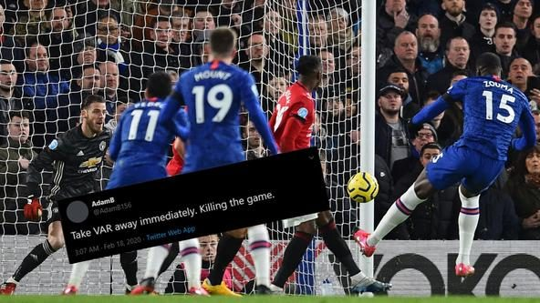 Fans call VAR in question after Chelsea vs Manchester United debacle