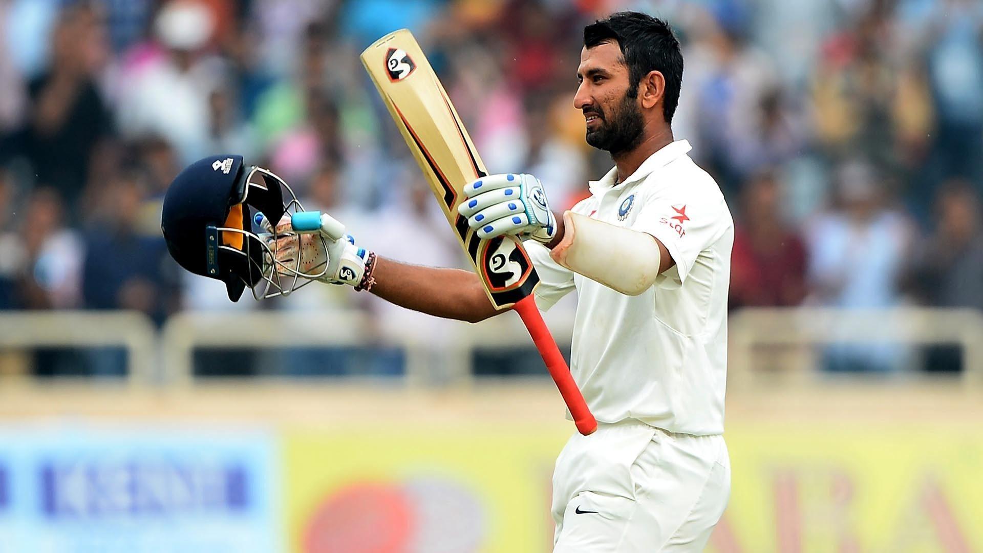 Top five Test knocks by Cheteshwar Pujara