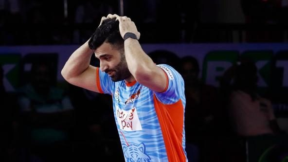 Pro Kabaddi teams who conceded the most points in Season 7