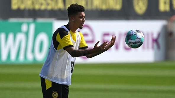 'No contact' from Man Utd over Sancho say Dortmund