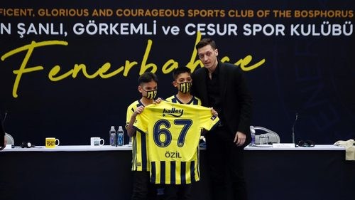 Reason Why Mesut Ozil Chose Number 67 At Fenerbahce
