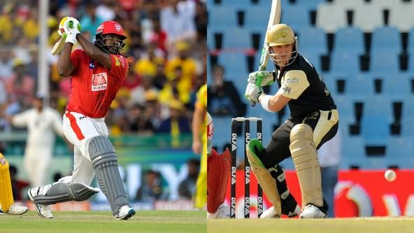 Who has the most sixes in an innings in IPL?