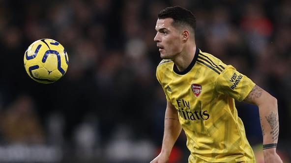 Mikel Arteta's handling of Granit Xhaka shows touch of class